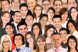 People collage